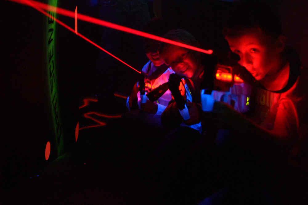 Vakantiepark De Krim, lasergamen