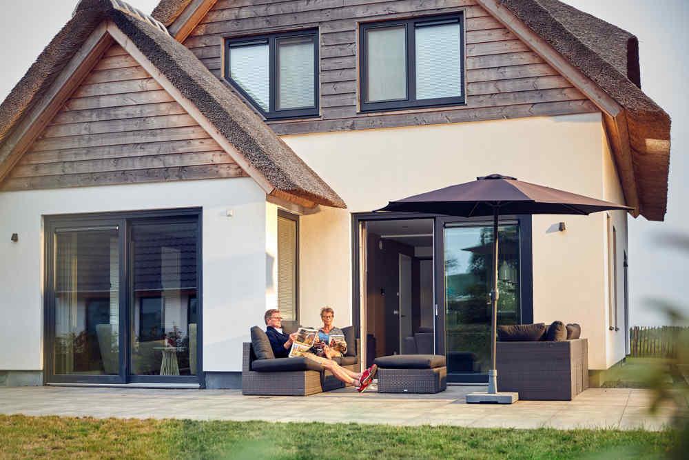 Luxurious villa with wellness area