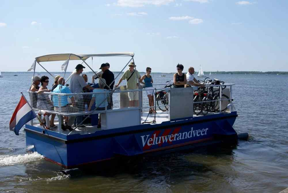 Bicycle ferry 'Veluwerandveer'