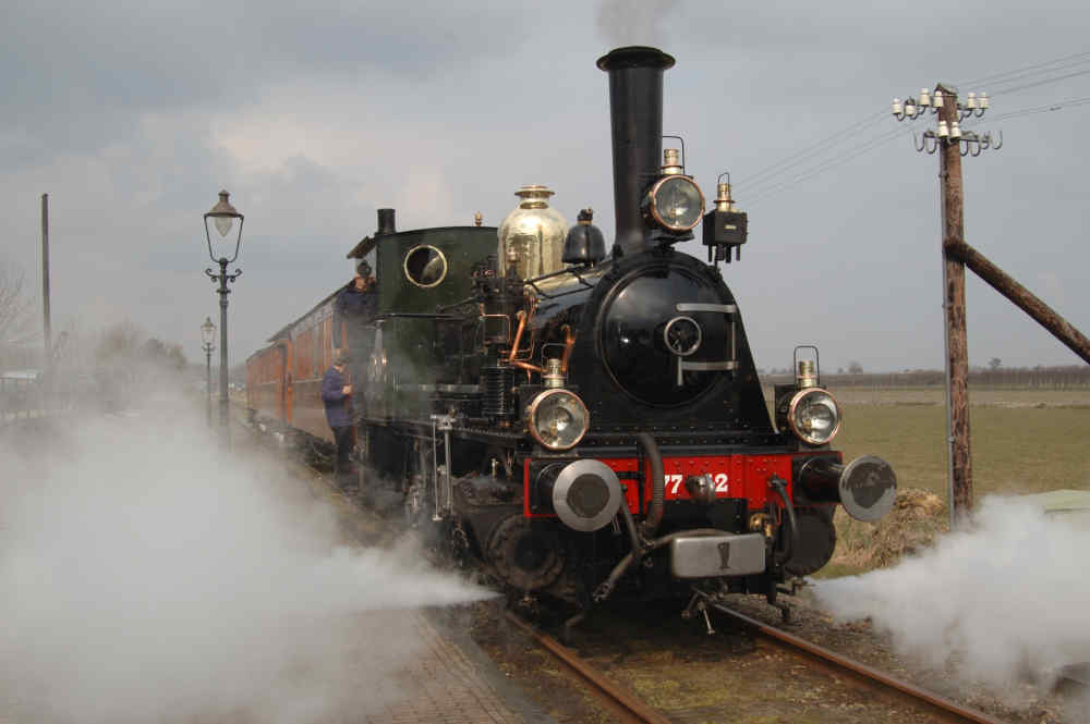 Dampfbetriebene Museumsstraßenbahn Hoorn-Medemblik