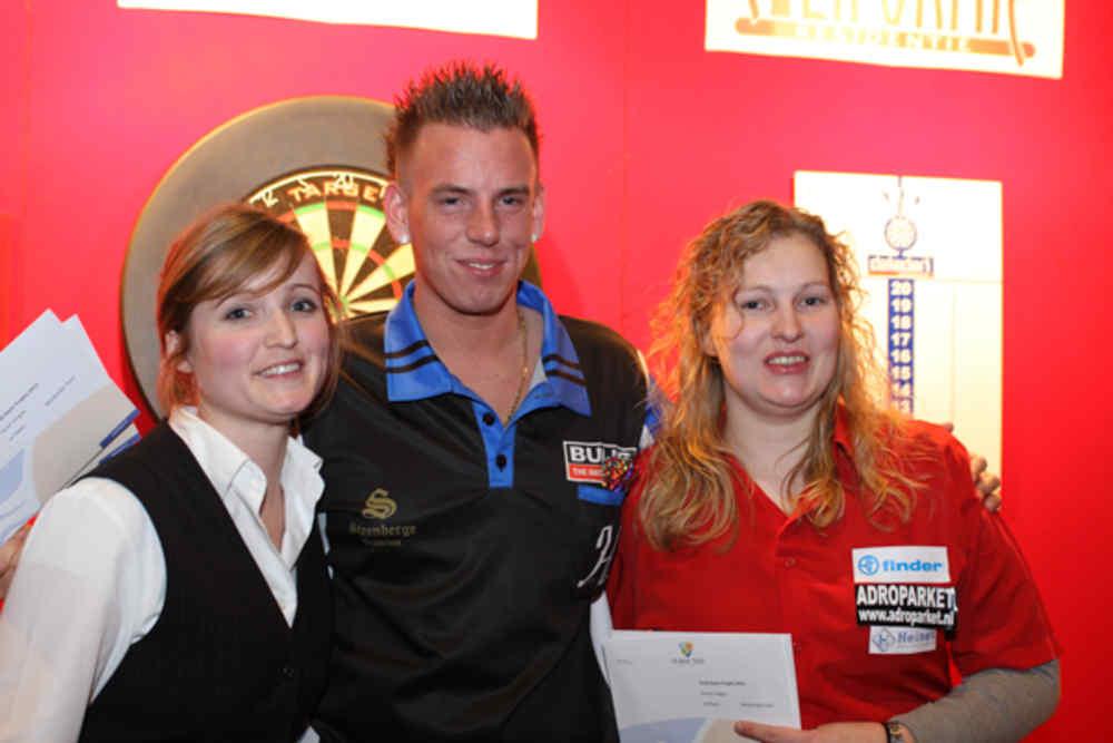 Texel Darts Trophy - prijsuitreiking