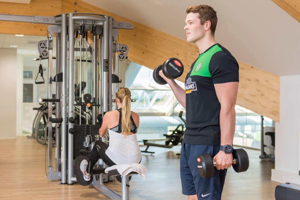 Holiday Park De Krim, fitness, weightlifting