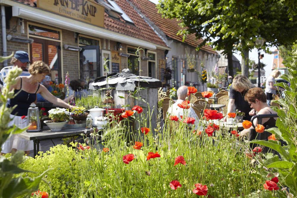Den Hoorn, Terasse