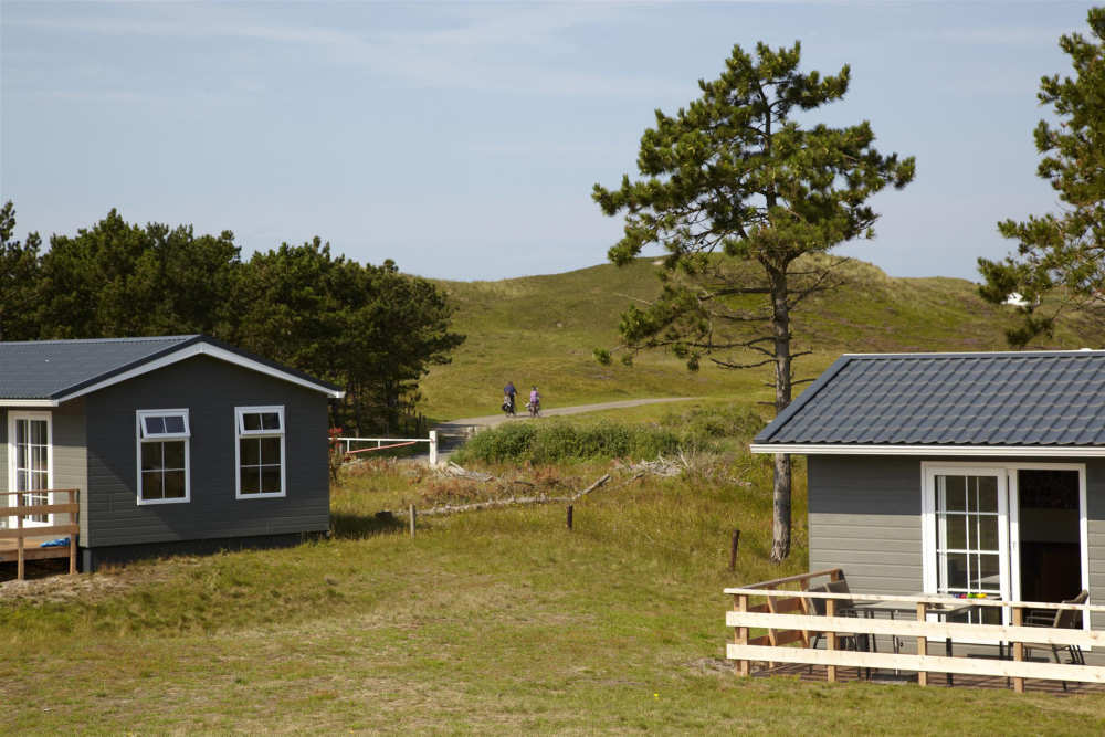 Camping Loodsmansduin, chalet Typ Geul