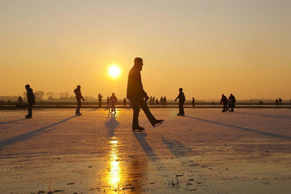 Fotoalbum Winter auf Texel