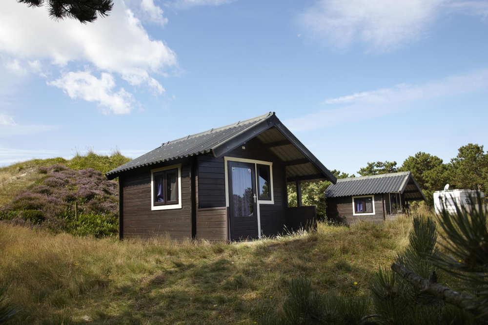 Wanderhütte auf Camping Loodsmansduin