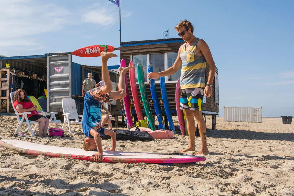 De Koog, surfschule Foamball