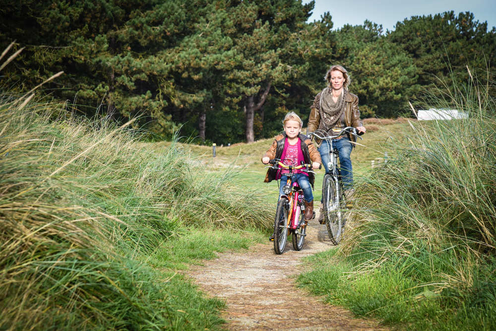 Radfahren auf Camping Loodsmansduin