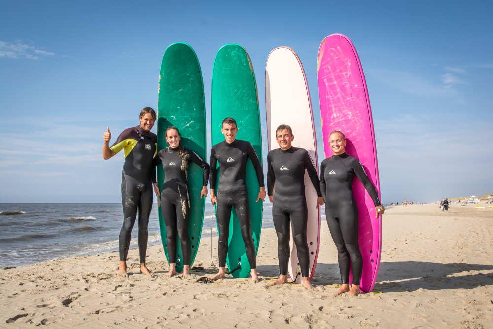 Surfschool Foamball, golfsurfles
