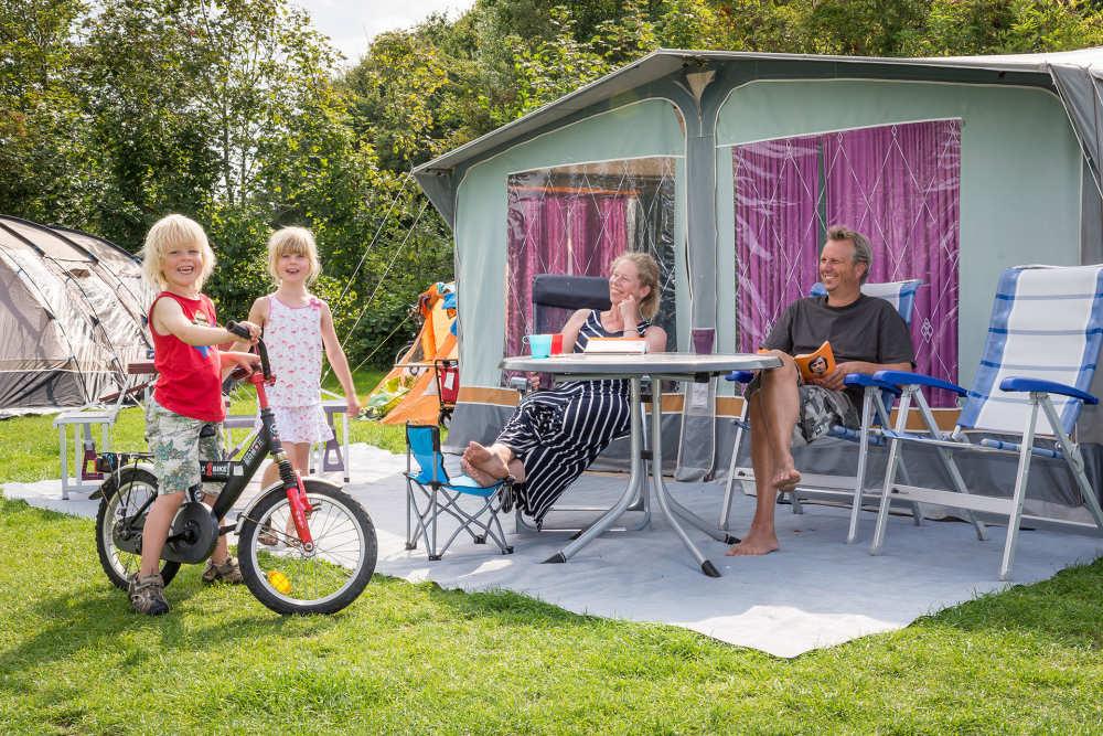 Zelten mit Kinder auf Camping De Krim