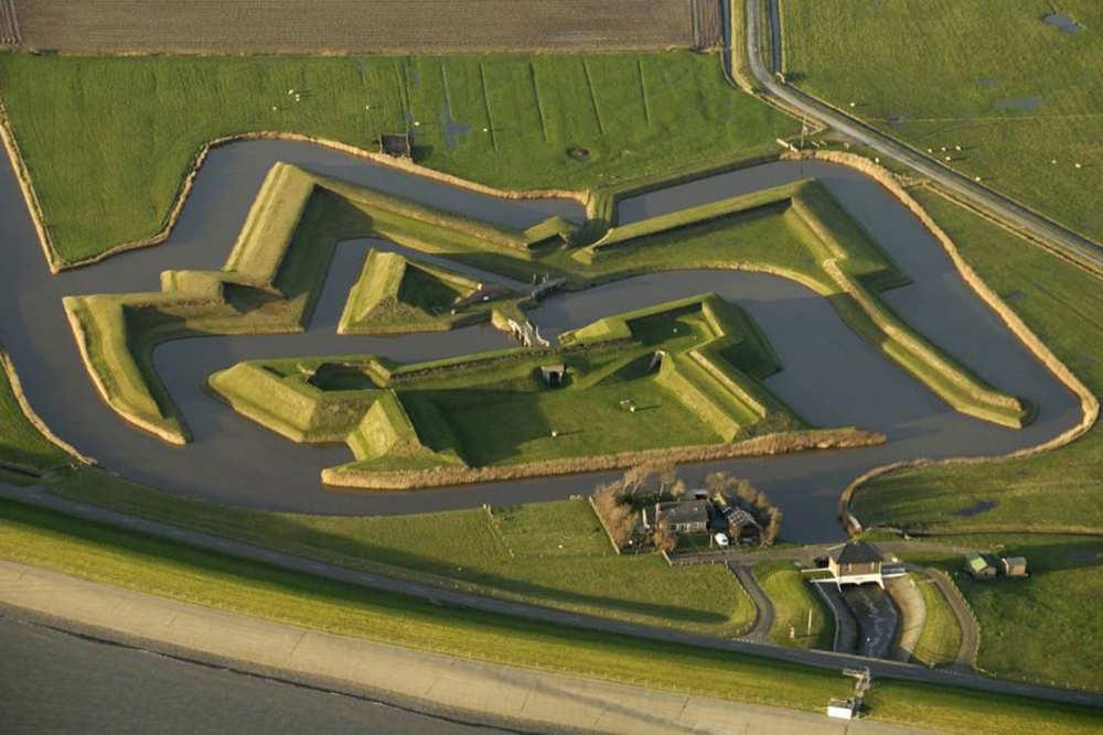 Oudeschild, fort De Schans