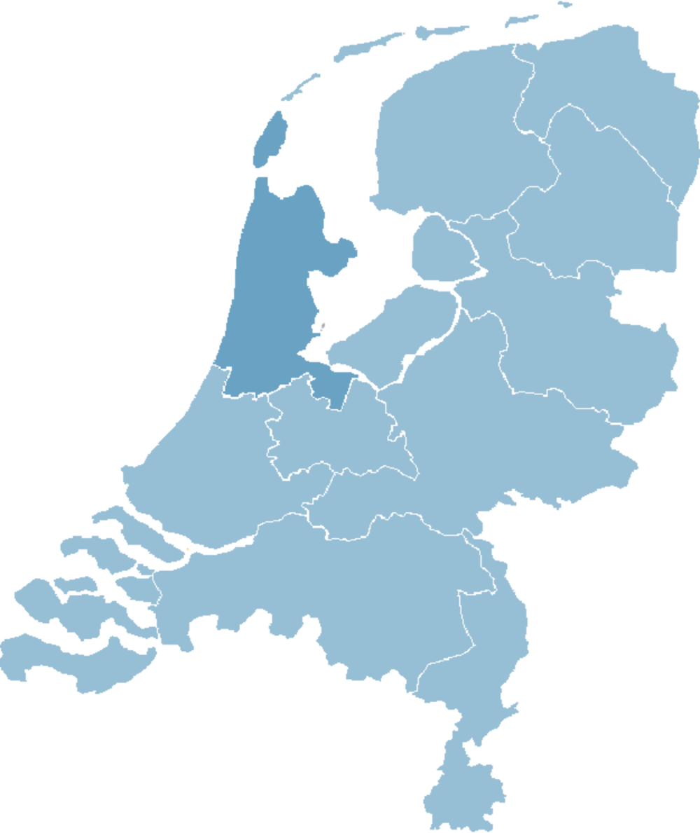 map-noord-holland