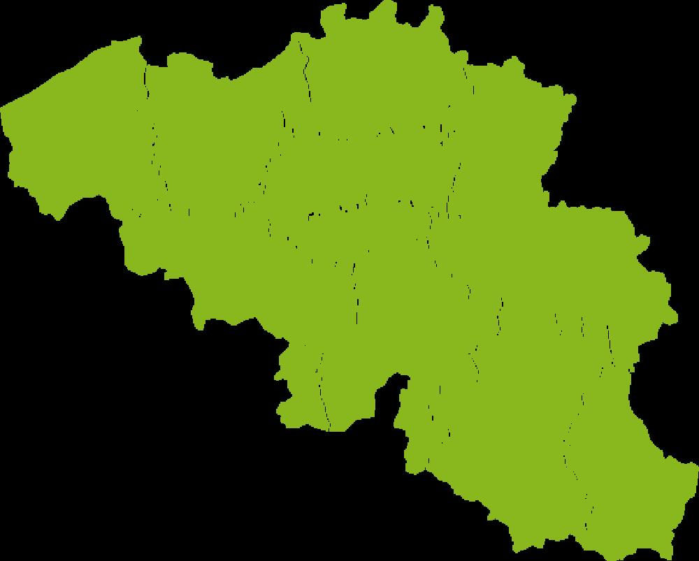 map-belgie