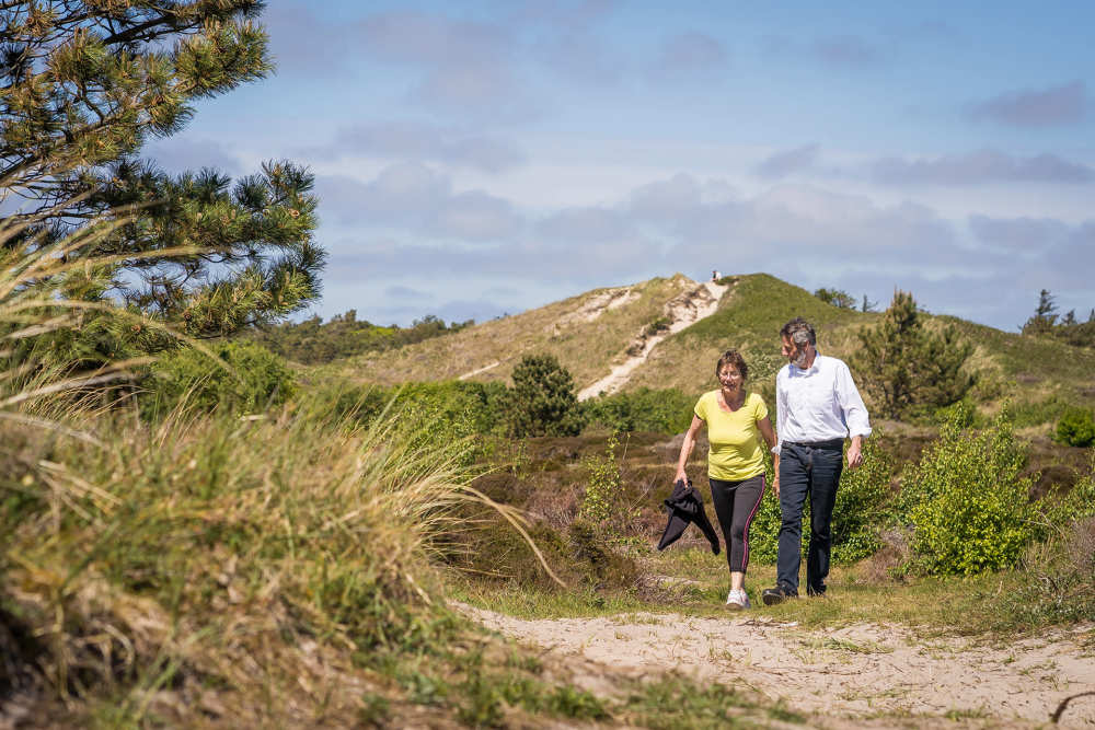 Nationaal park Duinen van Texel, Wanderroute