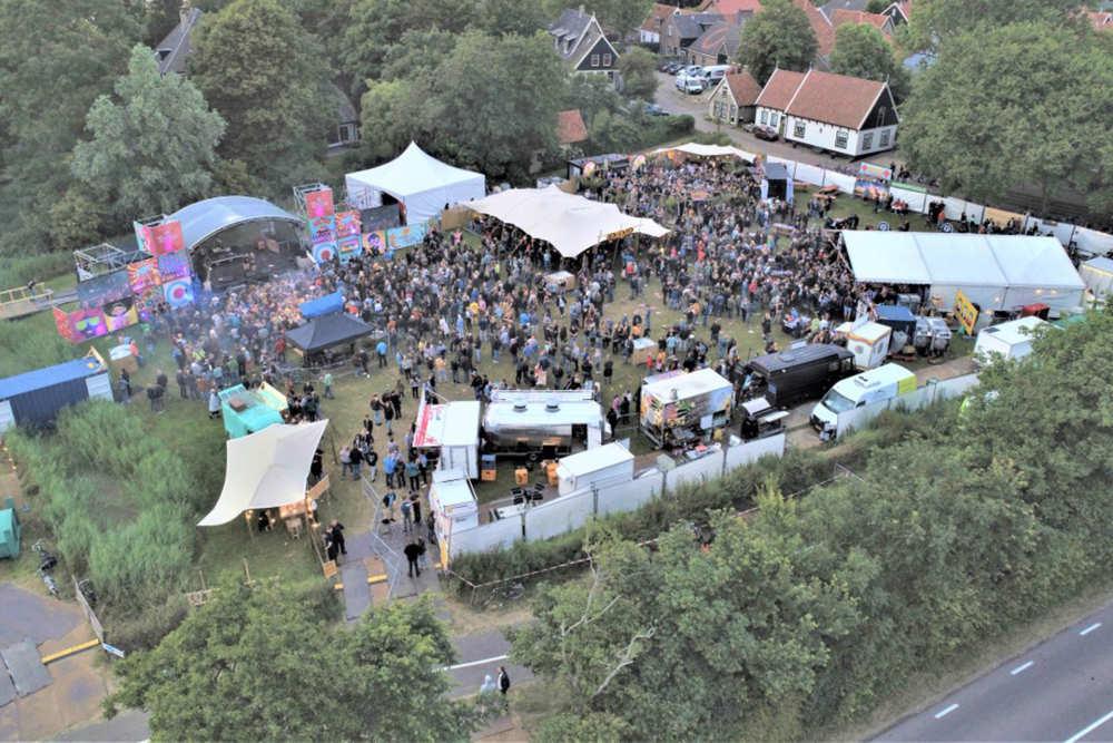 Luftbildaufnahme von SomPop