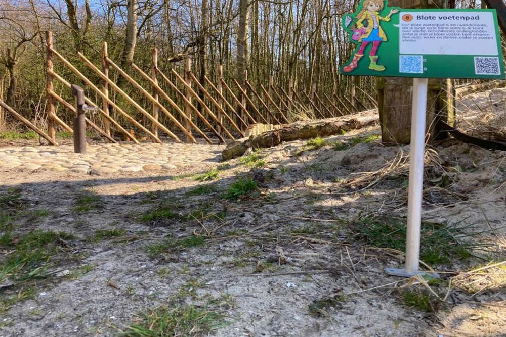 Ferienpark De Krim, Der Barfußpfad