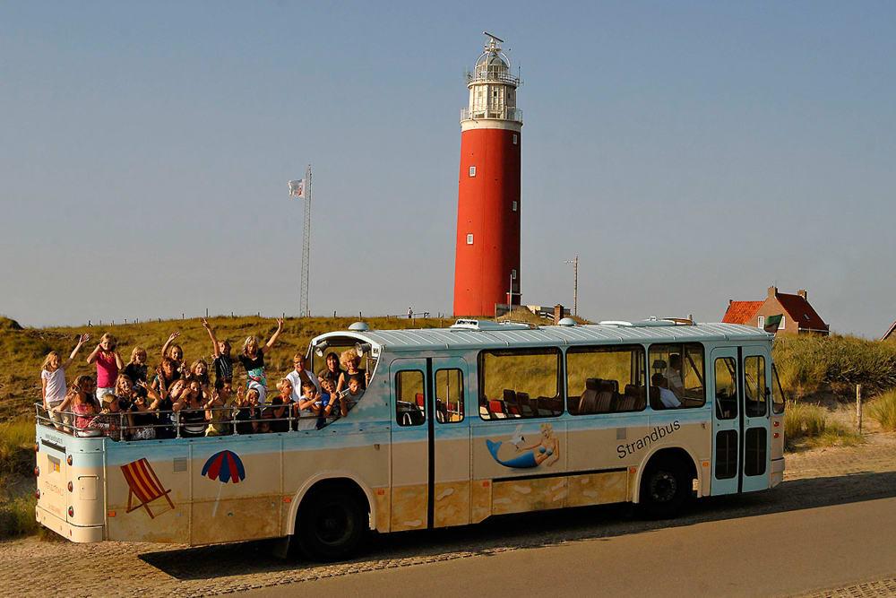 Vervoer op Texel, cabriobus