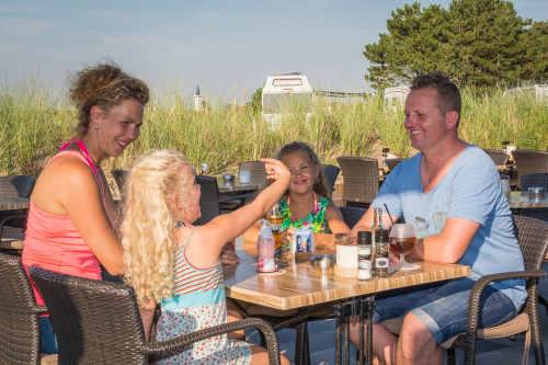Restaurant auf Camping Loodsmansduin