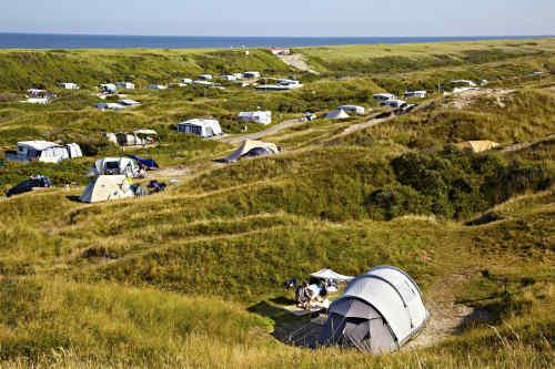 Camping Kogerstrand, duinplek zonder stroom