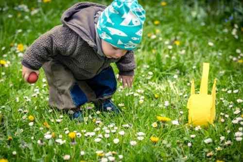 21 april 2019 - Paaseieren zoeken
