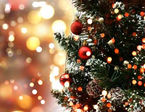 Haringstad Enkhuizen in kerstsfeer