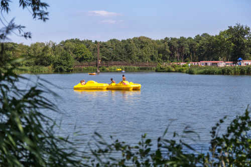 Rent a pedal car, pedal boat or bike