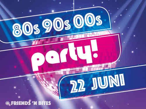 22 juni 2019 - 80's, 90's, 00's party