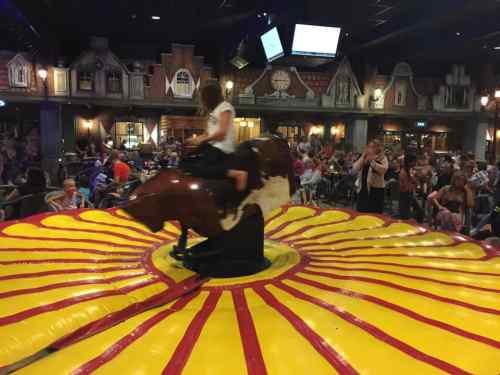 24. Juli 2019 - Rodeo-Spiel