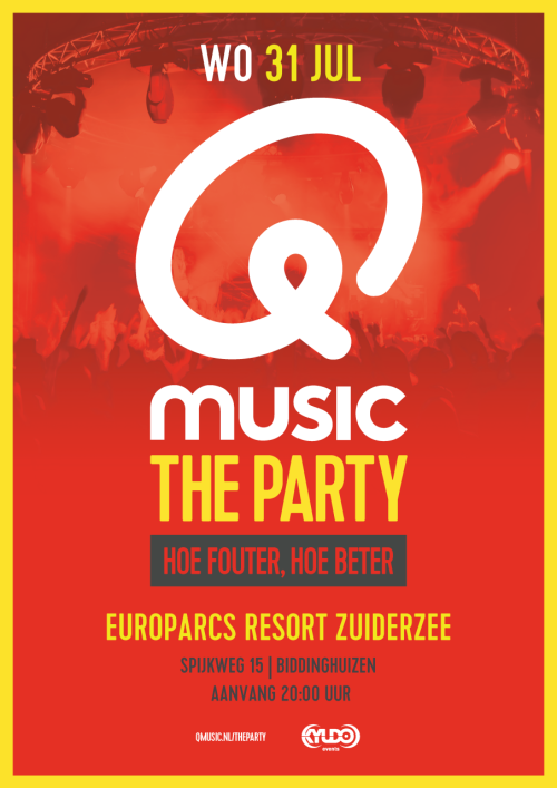 June 31 2019 - Qmusic the party