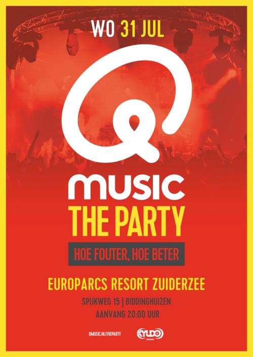 31. Juni 2019 - Qmusic die Party