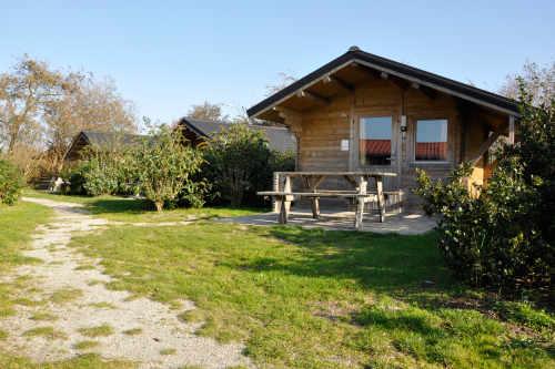Wanderhütte auf Camping De Krim