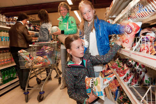 Supermarkt op Camping De Krim