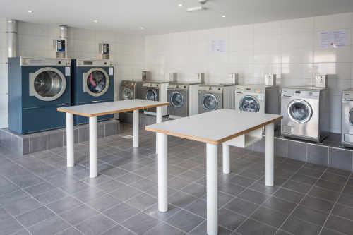 Wäscherei auf Camping De Krim