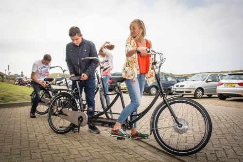 Fahrradverleih auf Camping De Shelter