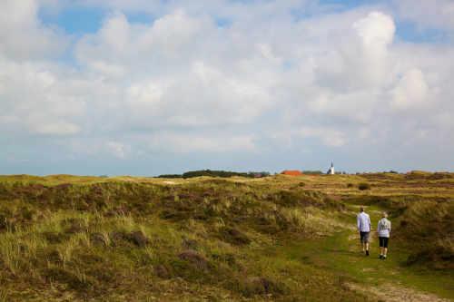 Wandern auf Texel