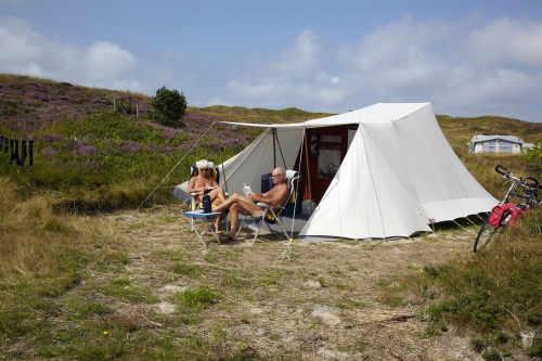 Naturist campsite