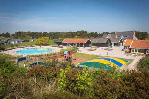 Centrale speeltuin op Camping Loodsmansduin