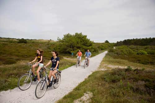 Rad fahren auf Texel