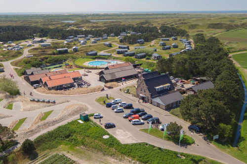 Camping Loodsmansduin, luchtfoto