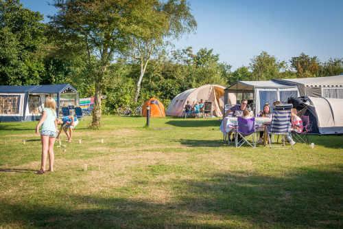 Vakantiepark De Krim, kampeerplaats