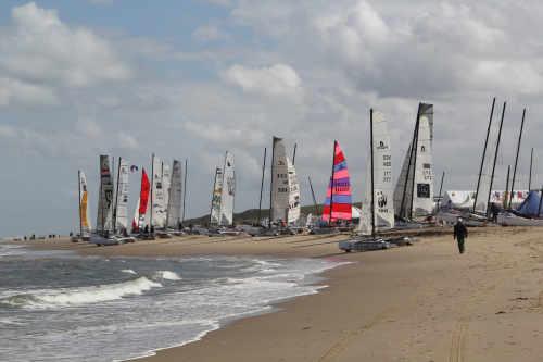 Catamaran race