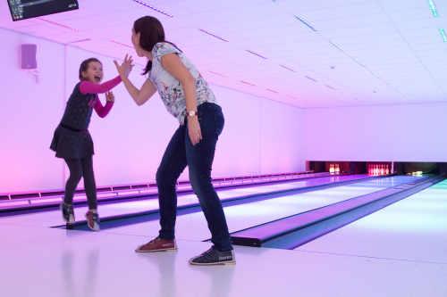 Lasertag und Bowling