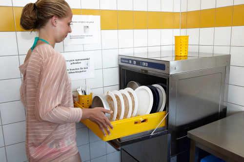 Modern sanitary block