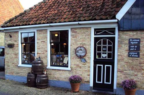 Besuch im Weinhaus