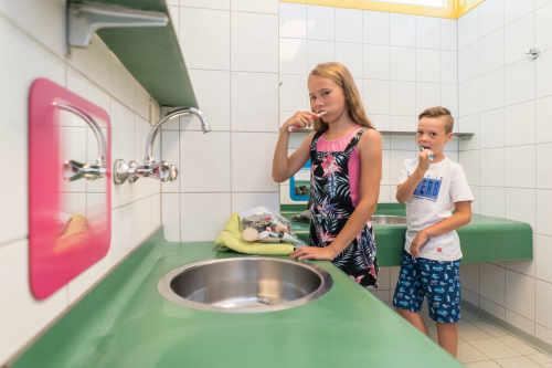 Sanitäranlagen auf Camping De Krim