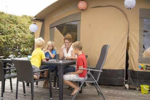 Tent verhuur op Camping Kogerstrand