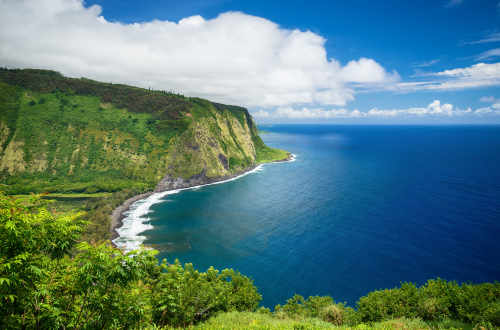 Hawaii scenic ocean