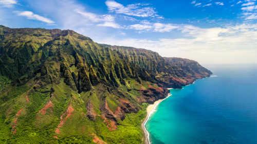 napalm coast kauai Hawaii