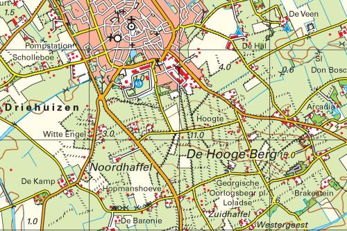 Kaart van Texel (PDF)