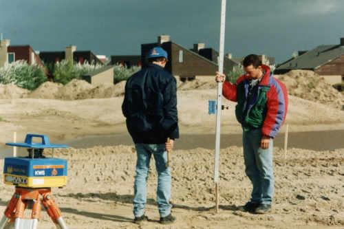 Golfbaan De Texelse, aanleg in 1995